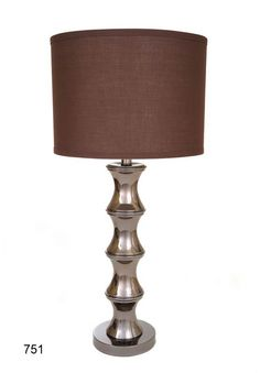 Brooklyn Table Lamp W/Metal Shade