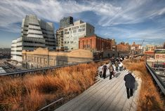 The Highline Park is a great place to visit to view the inspiring and amazing art work in the city :-)