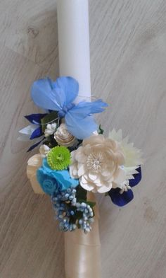 Lumanare botez - Quilling Design Antonia Shower Party, Baby Shower Parties, Candels, Hanukkah, Wreaths, Wedding, Design, Decor, The Creation