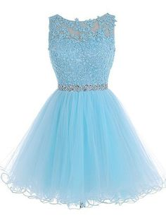 Tulle Homecoming Dress,Lace Homecoming Dresses,Blue Homecoming Dress,Fitted Homecoming Dress,Short Prom Dress,prom dresses