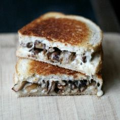 ... Sandwiches + Mushrooms on Pinterest | Mushrooms, Grilled cheeses and