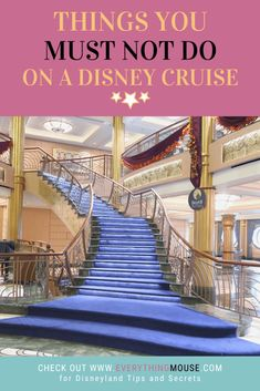 Disney Cruise Tips. What you should really never do on a Disney Cruise. Learn all the Disney Cruise Tips and Secrets so that you can have the very best cruise! Disney Cruise Europe, Disney Dream Cruise Ship, Disney Wonder Cruise, Disney Fantasy Cruise, Disney Cruise Line, Cruise Travel, Cruise Vacation, Disney Vacations, Disney Travel