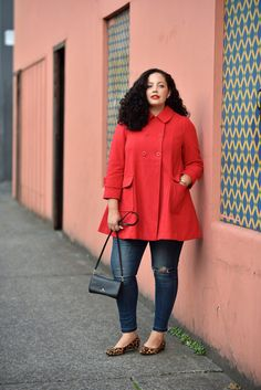 Red Coat, Leopard Fl