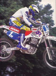 Scott Summers - XR 600 Honda Motorcycles, Vintage Motorcycles, Cars And Motorcycles, Enduro Vintage, Enduro Motorcycle, Japanese Motorcycle, Dirtbikes, Motogp, Motocross