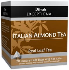 Dilmah Exceptional Leaf Tbag Italian Almond, Boxes (Pack of (Grocery) Preschool Mothers Day Gifts, First Mothers Day Gifts, Homemade Mothers Day Gifts, Almond Tea, Mother's Day Gift Baskets, Mother's Day Diy, Tea Cakes, Gourmet Recipes, Drink Recipes