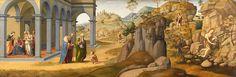 Francesco Granacci (circle of) - Scenes from the Life of St John the Baptist - Google Art Project.