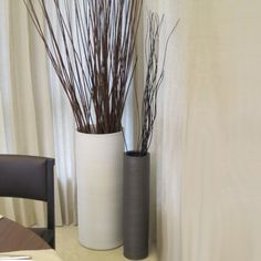 how to decorate with floor vases - Google Search