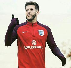 England's Best Player 2016. Adam Lallana.
