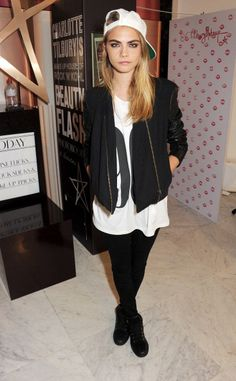 Cara Delevingne attends the closing of Charlotte…