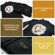 Chaquetas para carnaval personalizas. Chaquetas para peñas. Chaquetas personalizadas para peñas. Softshell personalizadas. Softshell para peñas. Softshell promocionales. Ropa para carnaval. Softshell, Sweatshirts, Sweaters, Fashion, Promotional Giveaways, Jackets, Moda, Pullover, Sweater