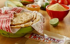 Fresh corn and flour uncooked tortillas made from simple ingredients and no preservatives -- for freshness you can taste. Uncooked Tortillas, Fresh Tortillas, Homemade Tortillas, Flour Tortillas, Street Tacos, 10 Seconds, Non Stick Pan, Nachos, Enchiladas