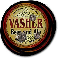 Beer Coasters Vasher Vicory Wasiak Wonson Zohner Alwell Ambros Antram Bollom…
