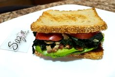 Sandwich de espinacas con tocino                                                                                                                                                      Más