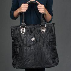 Extra Large Long Shoulder Bag Designer Vtg Style Tote Handbag