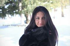 Senior portraits winter