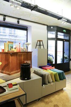 Interiors concept store 'Maison M'. Paris 7.  By Camille Hermand Architectures.   Photo : Agence Violette  #camillehermandarchitectures #agenceviolette