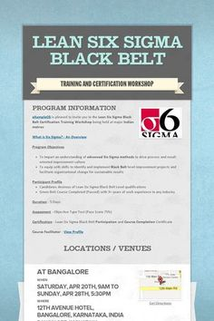 1000 images about six sigma on pinterest lean six sigma for Six sigma black belt certificate template