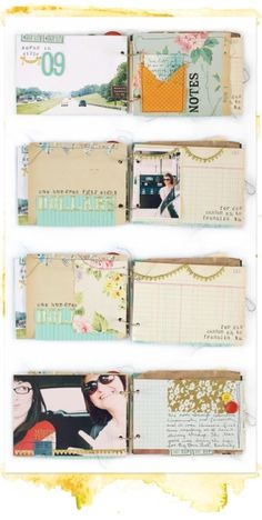 Great way to scrapbook travels
