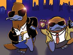 Platypus Police Squad: The movie!