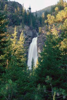 Rainbow Falls, Stehekin WA   © Marsha K. Russell
