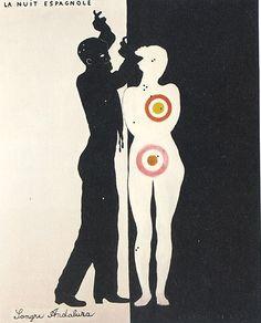 La Nuit Espagnole, 1922 Art Print by Francis Picabia