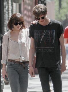 Dakota&matt out and about in NYC