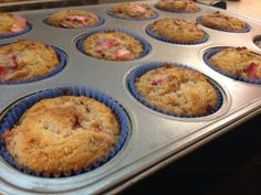 Stawberry Breakfast Muffins (S)