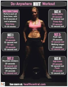 http://leanwife.com/cardio-drills/ Try a HIIT Workout: Looking for a new workout…