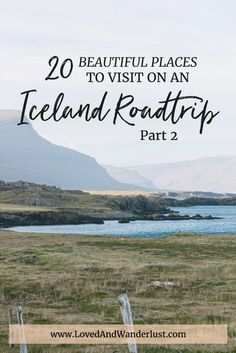 Traveling further up North and West youll drive past gorgeous fjords overflowing meadows high mountains low valleys and even dry lands. Iceland Travel Tips, Iceland Road Trip, Beautiful Places To Visit, Places To See, Adventures Abroad, Iceland Adventures, Road Trip Hacks, Road Trips, Travel