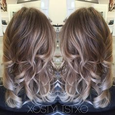 ash brown blonde balayage - Google Search