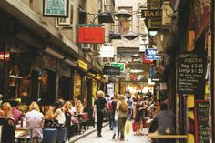 Half-Day Melbourne City Laneways and Arcades Tour with Queen Victoria Market From Melbourne in Australia Pacific Ocean and Australia Bari, Melbourne Laneways, Queen Victoria Market, Visit Melbourne, Melbourne Street, Melbourne Cbd, Small Group Tours, Melbourne Victoria, Cafes