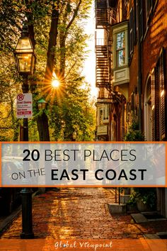 Planning a road trip adventure for this summer? Explore these 20 beautiful and best places to visit on the East Coast of the USA! These bucket-list destinations include historic cities and fishing villages, state and national parks, and unique cultural attractions. This summer and fall, be sure to pack your bags and set out for these epic places to visit on the east coast. #EastCoast #USATravel #RoadTrip #USRoadtrip #EastCoastUSA #BestPlaces #AmericanRoadTrip