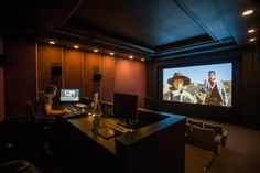 Designing and lighting a home editing suite room - Videomaker Video Editing Studio, Video Studio, Film Studio, Production Studio, Video Production, Studio Room, Home Studio, Editing Suite, Industrial Office Design