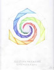 Age 12 ~ Geometric Drawing ~ Turning Nesting Hexagons