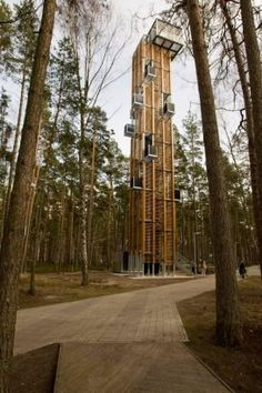 Observation Tower  Jurmala, Latvia     A project by: ARHIS   Architecture