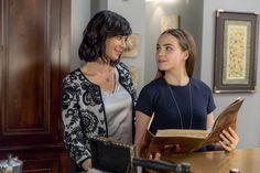 "Grace is presented with the Merriwick Wish Book for her birthday! What does she learn about her mom Cassie and cousin Abigail when they were younger?  Good Witch, Season 3 - ""A Birthday Wish"" airs Sunday 9/8c on Hallmark Channel.  #goodies #hallmarkchannel"