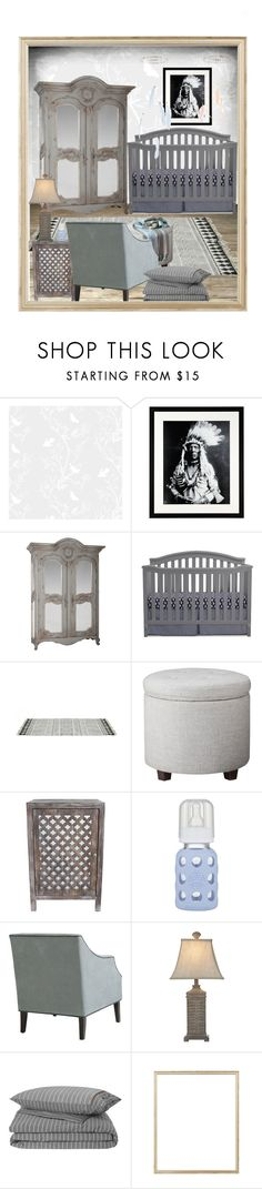 """""""Woodland Nursery Contest"""" by fowlerteetee ❤ liked on Polyvore featuring interior, interiors, interior design, home, home decor, interior decorating, Timorous Beasties, Eichholtz, Threshold and Décor Therapy"""