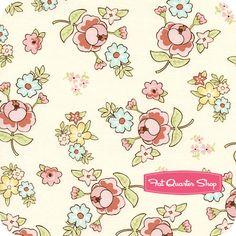 Vintage Baby Cream Floral Yardage SKU# C2811-CREAM