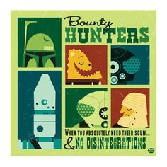 Bounty Hunters, Star Wars Fan art by Montygog Sci Fi Comics, Star Wars Comics, Star Wars Art, Star Trek, Star Wars Bounty Hunter, Cool Posters, I Am Awesome, Awesome Things, Funny Things