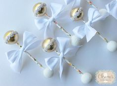 Totally obsessed with these adorable cake pop rattles for a Babyshower! …