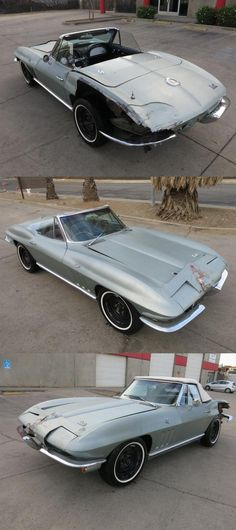 1966 Chevrolet Corvette Sting Ray Limited Edition Cabriolet [Salvage] Chevrolet Corvette, Chevy, Salvage Cars, Cabriolet, Cars For Sale, Cars For Sell