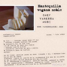 Mantequilla vegana de coco.