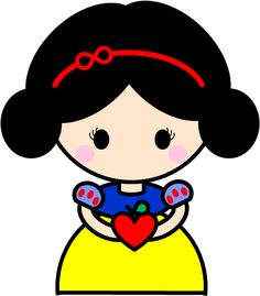 Snow White. My own design for daughter's princess party