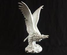 Catawiki online auction house: Herend - White Mythic Turul Bird - Porcelain Look Dark, Hungary, Auction, Porcelain, Bird, House, Porcelain Ceramics, Home, Birds