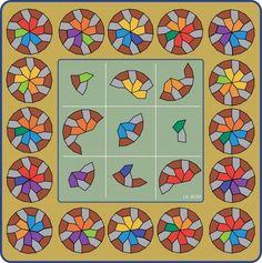 Los cuadrados mágicos III (Cuadrados geomágicos) | matematicascercanas