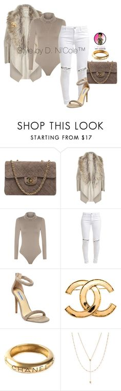 """Untitled #2954"" by stylebydnicole ❤ liked on Polyvore featuring moda, Chanel, River Island, WearAll, FiveUnits, Steve Madden e Jennifer Zeuner"