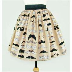 Skirt Mustache Pleated Full Skirt Moustache Skirt ($40) ❤ liked on Polyvore featuring skirts, bottoms, faldas, mustache, silver, women's clothing, full pleated skirt, full skirt, silver skirt and beige pleated skirt