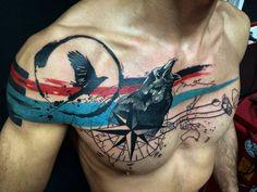 """Aquí la razón por la que me depilé el pecho. Nuevo tatto!!! By @pablo_ortiz_tattoo. #pabloortiztattoo#tattoo#tatuaje#tatto_artwork"""