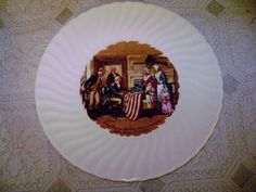 FINAL SALE vintage plate of Betsy Ross by SkyAccessoryBoutique, $9.00