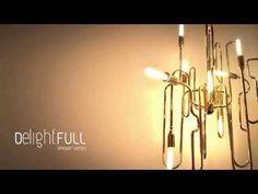 CLARK | SUSPENSION CEILING PENDANT | DELIGHTFULL - UNIQUE LAMPS